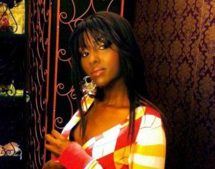 Former Kenya singer drowning in liquor a few weeks after leaving rehab, she needs help!