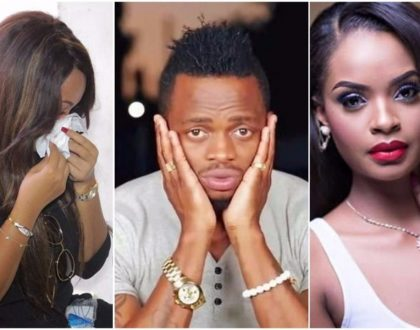 """I didn't sleep with Dillish Mathews"" Diamond opens up after confessing he fathered Mobeto's child"