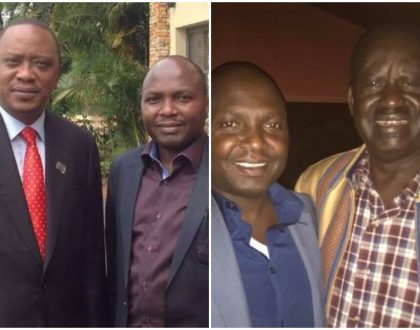"""I will vote for Ruto in 2022 but now am voting for Raila""Donald Kipkorir reveals why he's against Uhuru presidency"