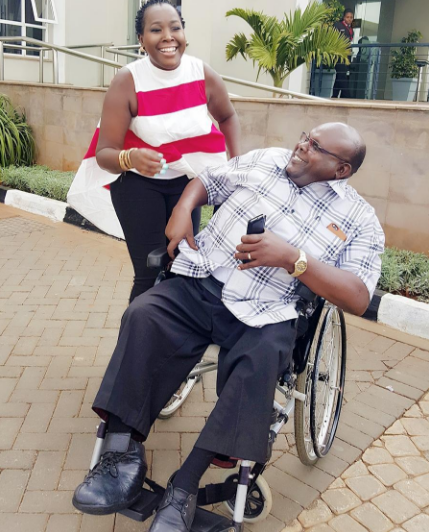 Emmy Kosgei11 - 'I thought life was ending' Celebs tell on how they became disabled for life
