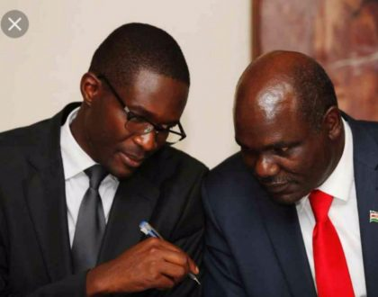 Chebukati drops Chiloba from team that that will oversee October 17th presidential election
