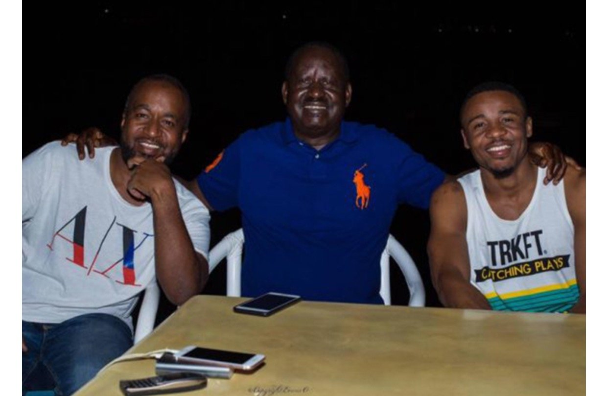 This is why NASA Presidential candidate Raila Odinga sent a private jet to pick Alikiba