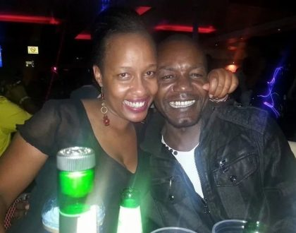 Teacher Wanjiku's husband addresses rumors linking him to the 2 deaths of Churchill show's late comedians