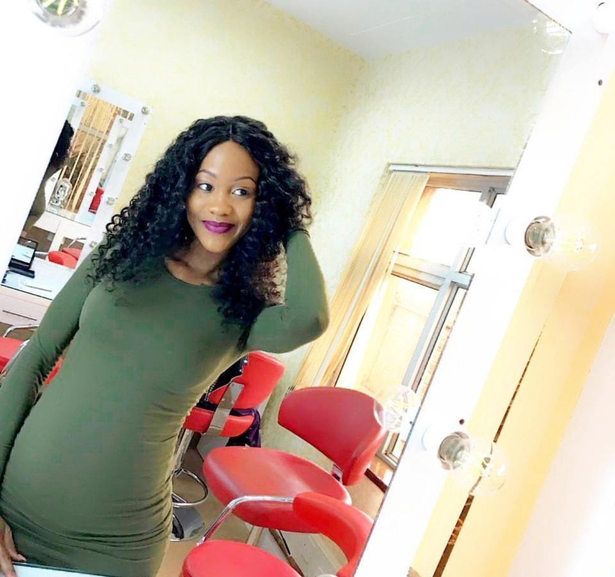 Pregnant and fabulous: Michelle Yola continues to club even with her growing baby bump