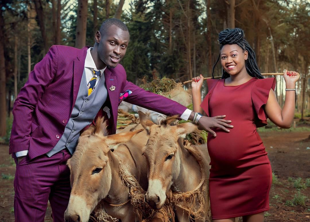 King Kaka and his pregnant wife, Nana