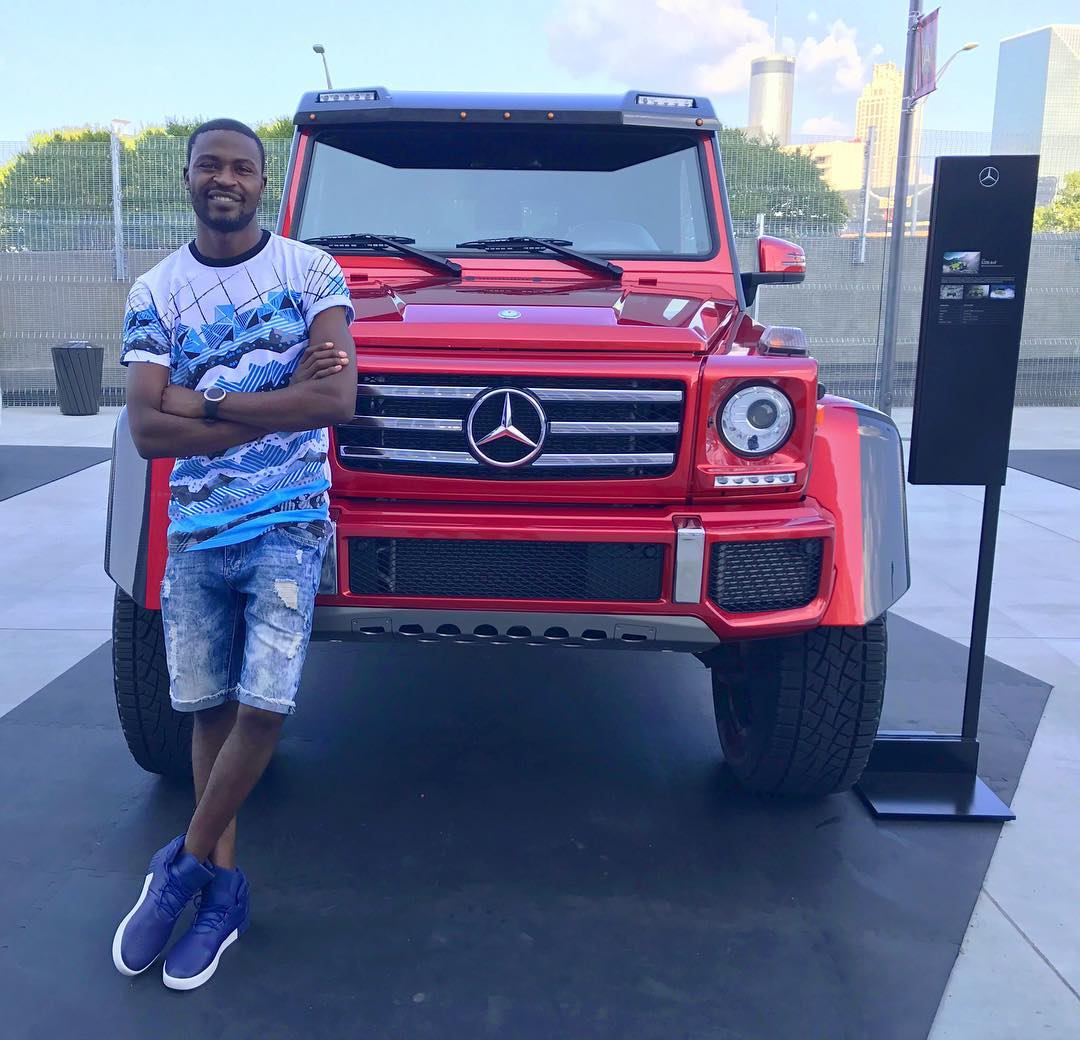 Lanes! Gospel singer Benachi living in the US flaunts his new ride worth ksh 4.9 million