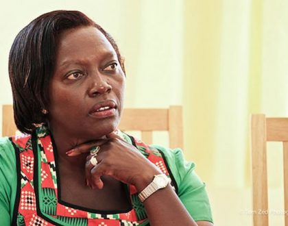 """Havai bra yawa"" Kenyans go wild over a photo of Martha Karua"