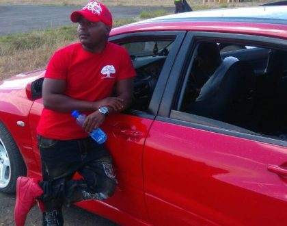 Meet Aka Mike – swaggerific broker whose clothing must match the color of car he drives in any specific day (Photos)