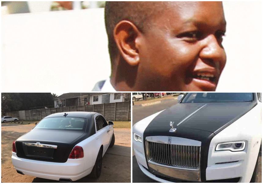 Uproar as Robert Mugabe's stepson imports two Rolls Royce worth over Kes 100 million on a cargo plane