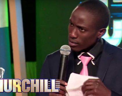 Comedian Njoro