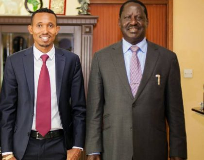 """""""Raila is my political father"""" Mohammed Ali describes his relationship with Raila post shambolic ODM nominations"""