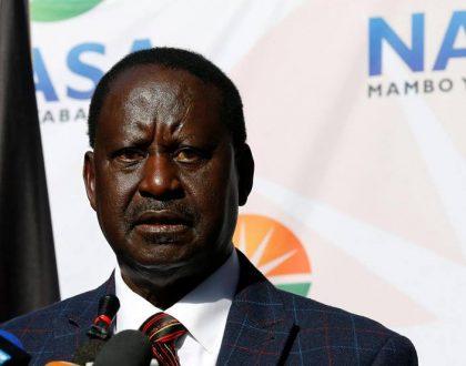 """""""If i were Uhuru looking at what has transpired i would just resign"""" Raila Odinga makes another shocking revelation"""