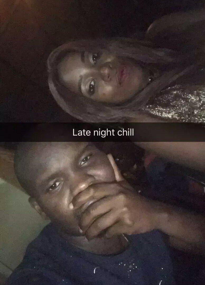 Saumu Mbuvi with rumored boyfriend, Kelvin Shaban