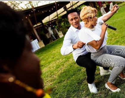 Power couple DJ Mo and Size 8 celebrate their daughter's 2nd birthday in style