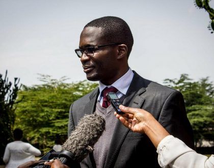 """""""Dear Ezra Chiloba, the constitution is very clear"""" Rich lawyer Donald Kipkorir tells Chiloba what will happen to him if he refuses to step down"""