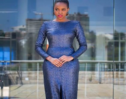 Baby fat my foot! Sharon Mundia leaves the internet salivating as she shares first postnatal photo