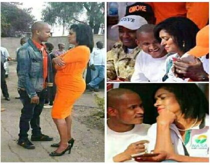 7 more photos of Babu Owino and Esther Passaris dangerously close to each other in different rallies