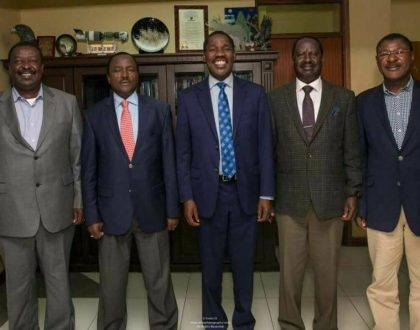 Raila Odinga reveals the real reason why Peter Munya dumped Nasa after only 8 days