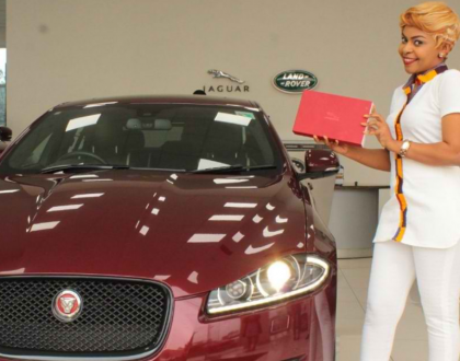 """""""I don't believe in buying cars through loans"""" Size 8 reveals how she paid 7 million in cash to buy her Jaguar"""
