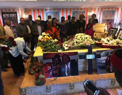 """Your passing left pain beyond measure"" Sonko celebrates his late dad in emotional post"
