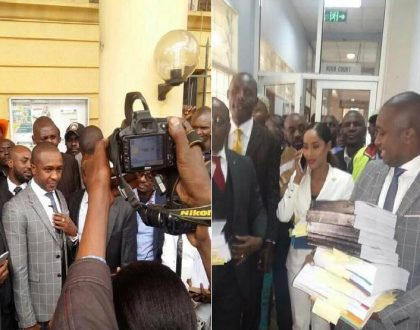 Boniface Mwangi expresses his joy as Steve Mbogo finally challenges Jaguar's win in court (Photos)