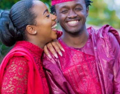 Amazing photos from Bahati and Diana Marua's wedding