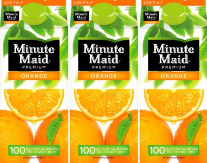Experience life on the cooler, affordable and healthier side by quenching your thirst with Minute Maid!