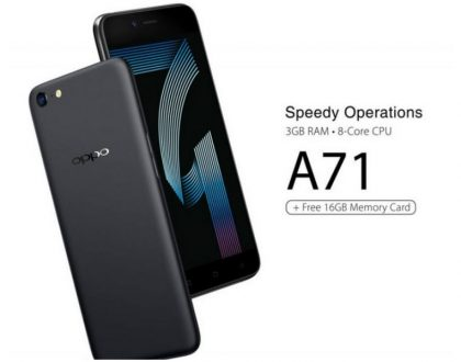 OPPO A71 finally retails on open market after giving Safaricom two weeks exclusive selling rights