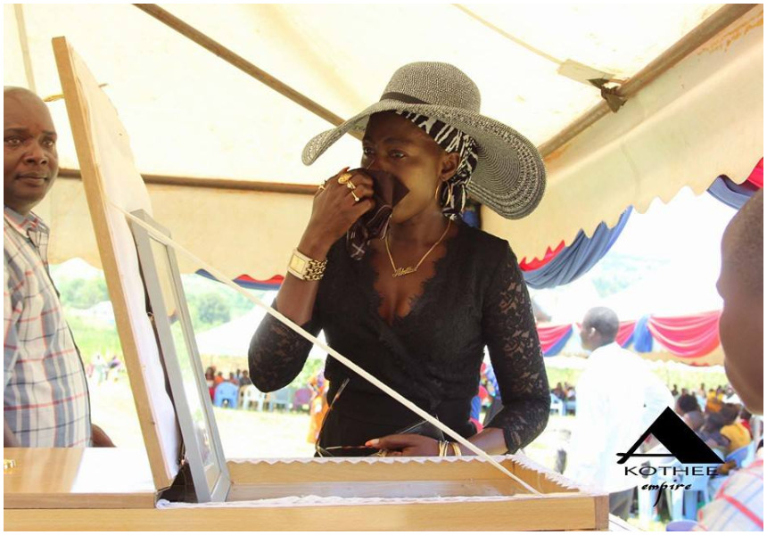 """""""You are the only true husband in my life"""" Akothee mourns the death of her husband"""