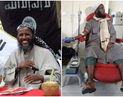 The Lord works in mysterious ways! Al-Shabaab founder surfaces to donate blood to Mogadishu bomb blast victims