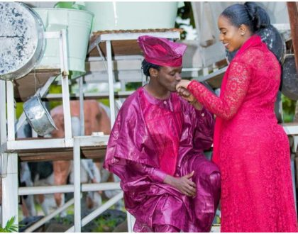 Bahati rushed to marry Diana Marua due to her pregnancy?