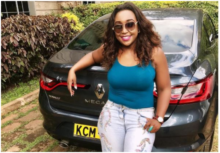 'I got trapped under a Matatu and it was still moving. The left part of my face got scrapped off' - Betty Kyalo shares how she cheated death