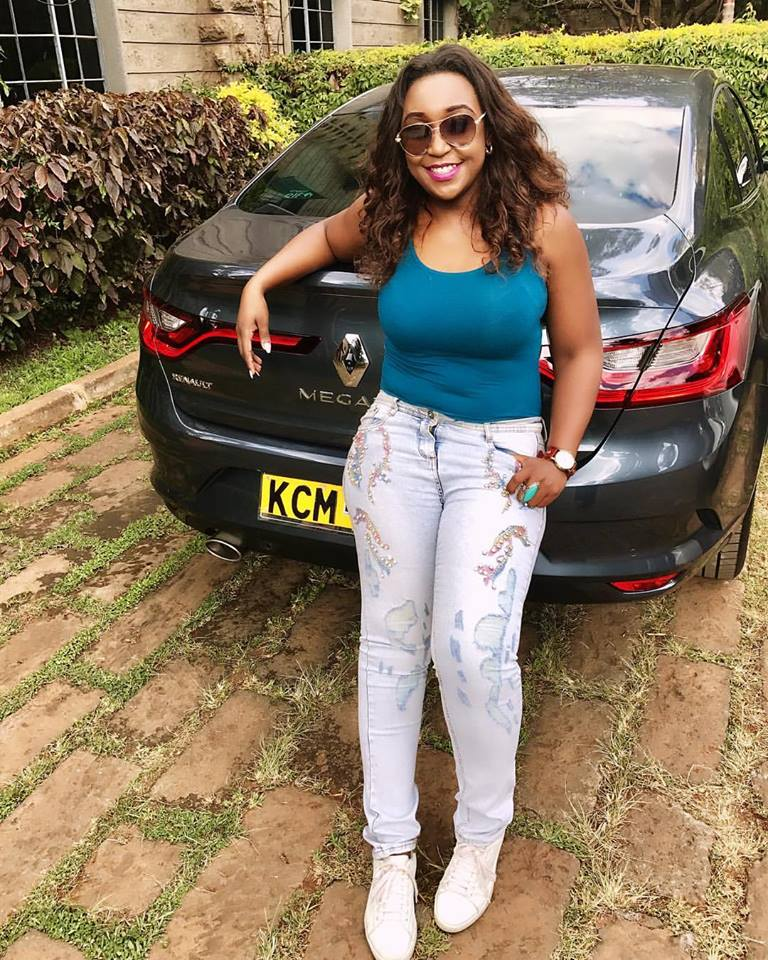 Betty Kyallo Buys A Brand New Car