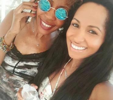 Chantal and her mum