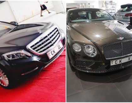 Chris Kirubi buys brand new Bentley Continental GT just a year after he bought the 40 million Maybach