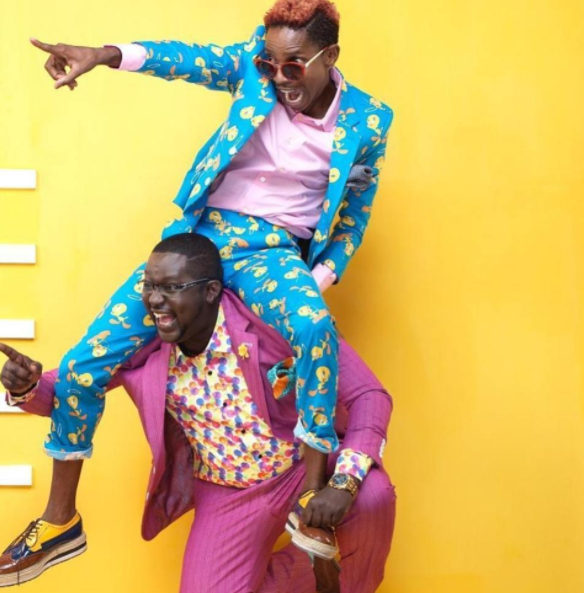"""""""You carried me on your shoulders and showed me the future"""" Eric Omondi special birthday message to Churchill as he turns a year older"""