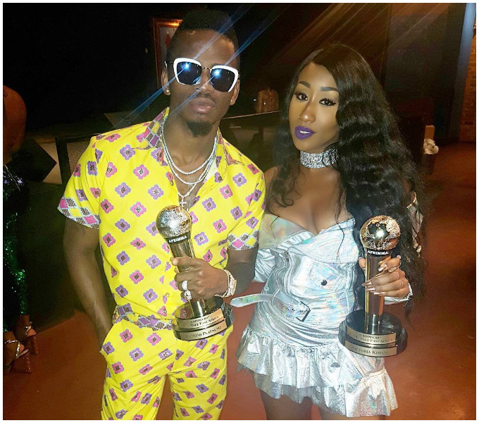 Diamond and Victoria Kimani win big in Afrimma Awards 2017 (Photos)