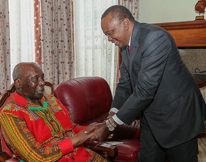 Retired President Daniel arap Moi as a young handsome man (Photo)