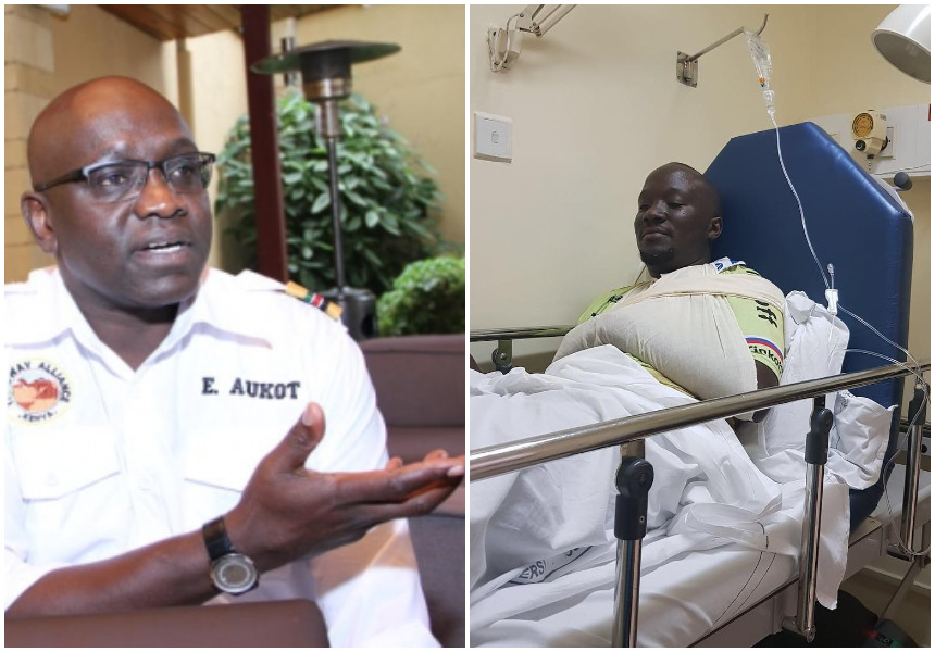 Ekuru Aukot lashes out at KTN crime reporter Dennis Onsarigo