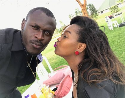 Vile inafaa! Why King Kaka and wife don't follow each other on social media
