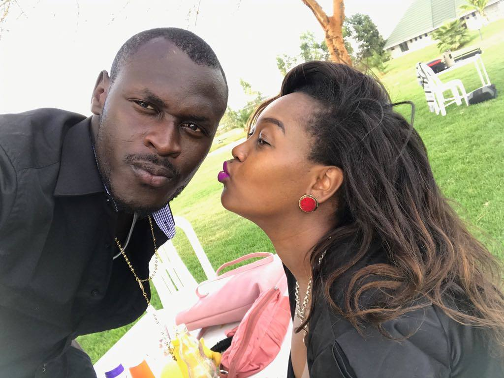 Check out King Kaka's wife parade her huge bare baby bump