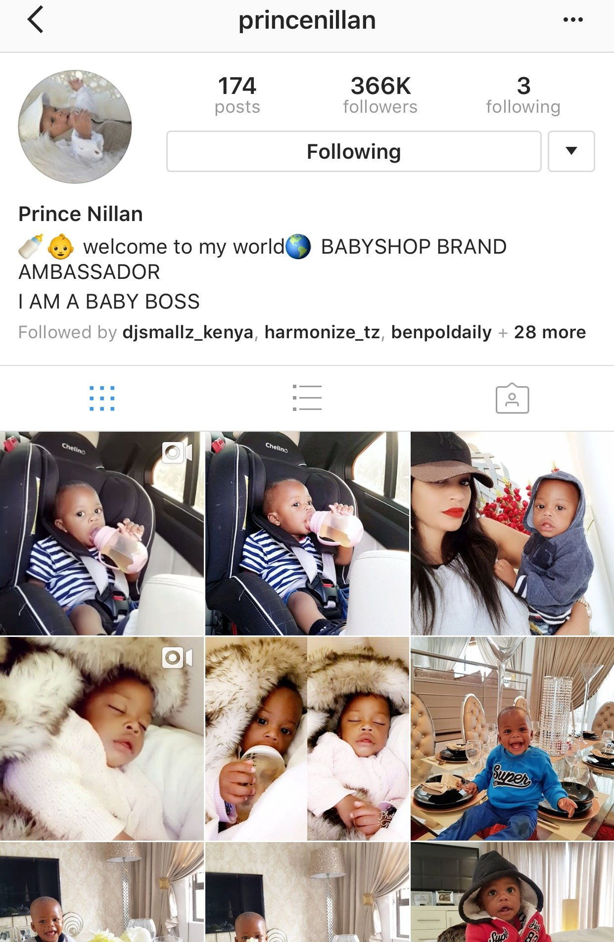Zari deletes Diamond Platnnumz name from Nillan's Instagram page