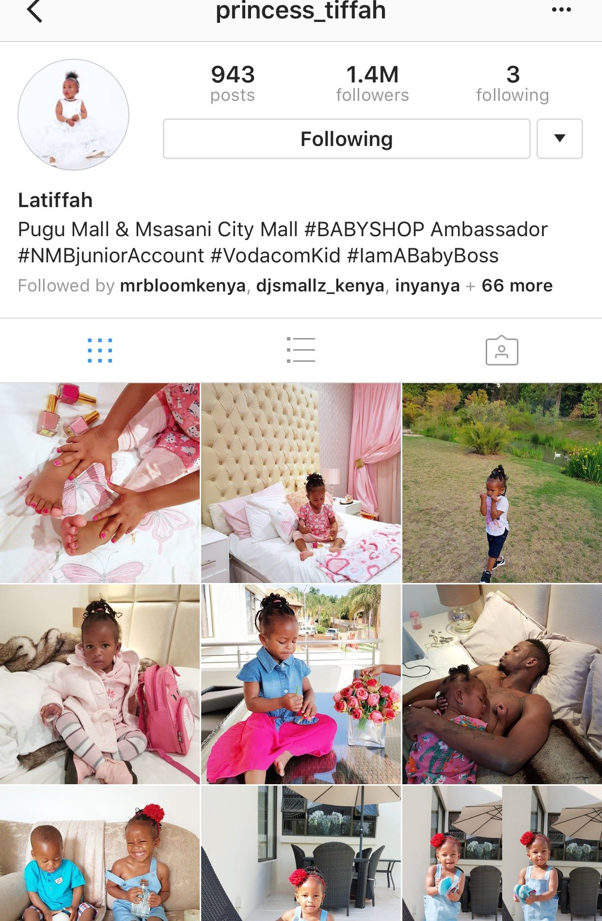 Zari deletes Diamond Platnnumz name from Tiffah's Instagram page