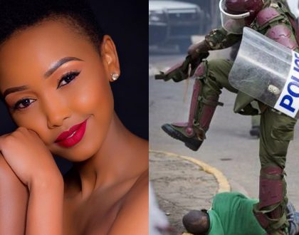 Huddah faces the wrath of Kenyans for her cruel and heartless comments about dead Nasa supporters