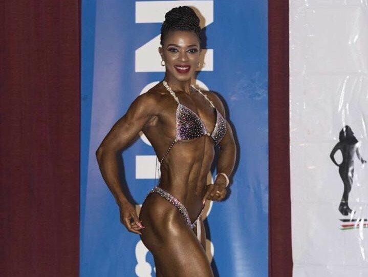 Meet Willis Raburu's sexy trainer causing a stir online