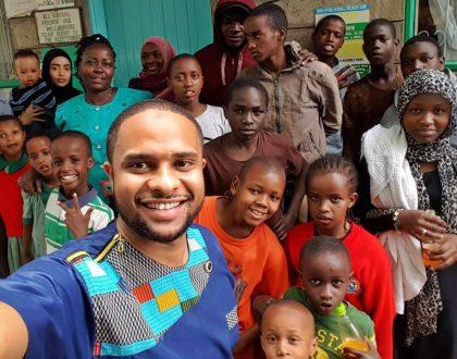 KTN's Mzuqa presenter Jamal Gadaffi celebrates his birthday in style (Photos)