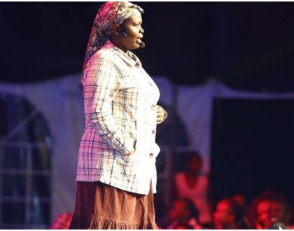 """I auditioned for 10 months straight without any success"" Churchill Show's Jemutai narrates her struggles"