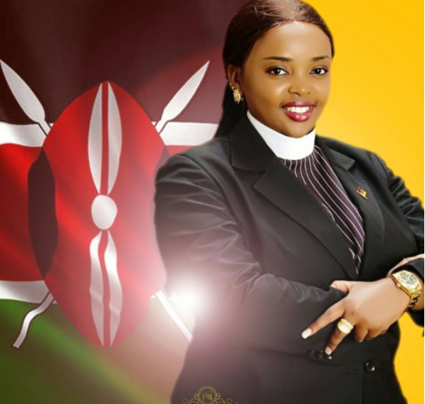Goals: This is the expensive 'toy' Reverend Lucy Natasha rolls around in