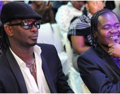 """We used to be rivals"" Nameless and Jua Cali demonstrate how Kikuyus and Luos can live in harmony"