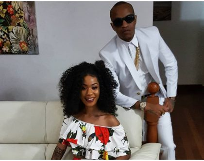 Screenshot of Prezzo confessing his love for Noti Flow, are they dating?
